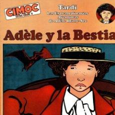 Cómics: ADELE Y LA BESTIA. CIMOC EXTRA COLOR Nº 0. JACQUES TARDI. NORMA, 1982. Lote 194696681