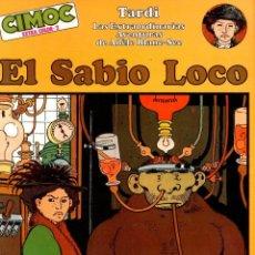 Cómics: ADELE BLANC-SEC. EL SABIO LOCO. CIMOC EXTRA COLOR Nº 2. JACQUES TARDI. NORMA, 1981. Lote 194697046