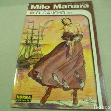 Cómics: COLECCIÓN COMPLETA EL GAUCHO DE MILO MANARA-COMO NUEVA. Lote 194718461