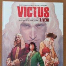 Cómics: VICTUS - 1 VENI - SANTAMARIA DALMASES & SINTES - CARTONE - EN CATALAN. Lote 194758152