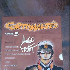 Cómics: CORTOMALTES, COFRE 3, HUGO PRATT. Lote 194774288