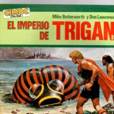 Cómics: EL IMPERIO DE TRIGAN 3. ULTIMATUM A ELEKTON. MIKE BUTTERWORTH Y DON LAWRENCE. CIMOC EXTRA COLOR Nº 7. Lote 194778941