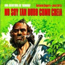 Cómics: HOMBRE: LOS 5 ALBUMES DE CIMOC EXTRA COLOR (NORMA, 1988-1995) DE ORTIZ Y SEGURA. Lote 194784825