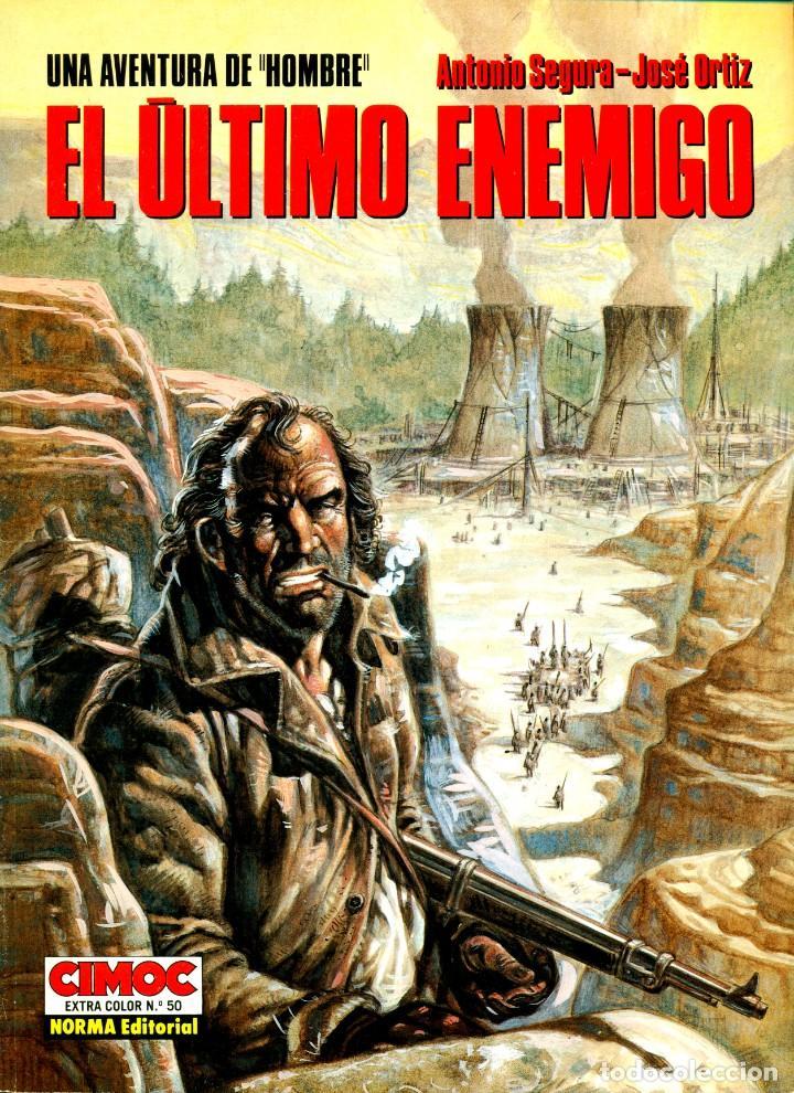 Cómics: HOMBRE: LOS 5 ALBUMES DE CIMOC EXTRA COLOR (NORMA, 1988-1995) DE ORTIZ Y SEGURA - Foto 2 - 194784825