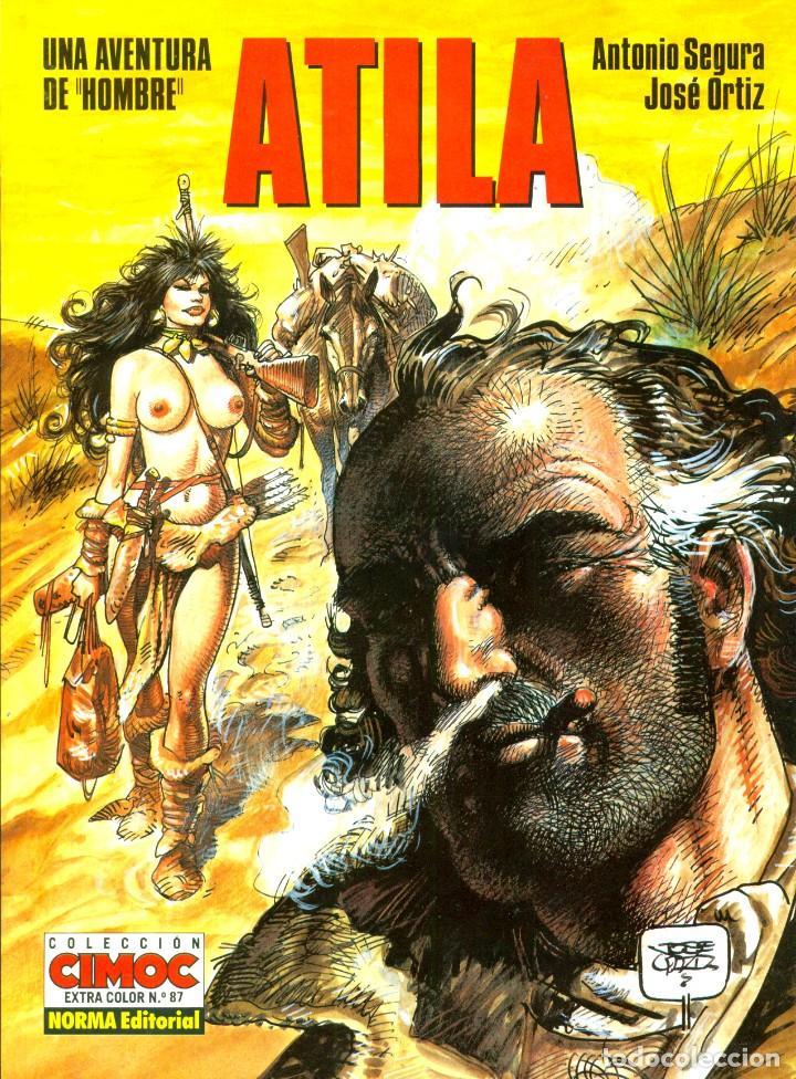 Cómics: HOMBRE: LOS 5 ALBUMES DE CIMOC EXTRA COLOR (NORMA, 1988-1995) DE ORTIZ Y SEGURA - Foto 3 - 194784825