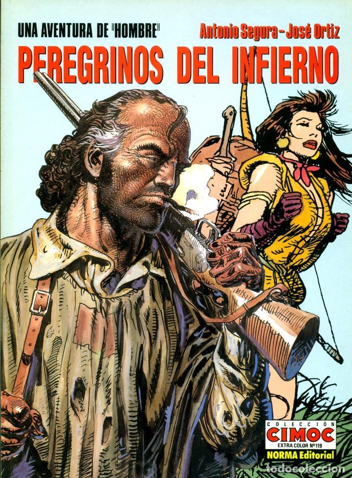 Cómics: HOMBRE: LOS 5 ALBUMES DE CIMOC EXTRA COLOR (NORMA, 1988-1995) DE ORTIZ Y SEGURA - Foto 5 - 194784825