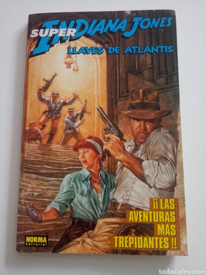 SUPER INDIANA JONES . LLAVES DE ATLANTIS. 4 DE 4 (Tebeos y Comics - Norma - Comic USA)