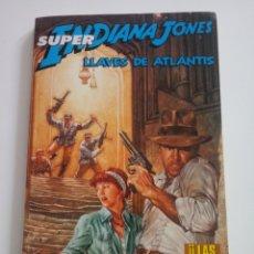 Cómics: SUPER INDIANA JONES . LLAVES DE ATLANTIS. 4 DE 4. Lote 194862402