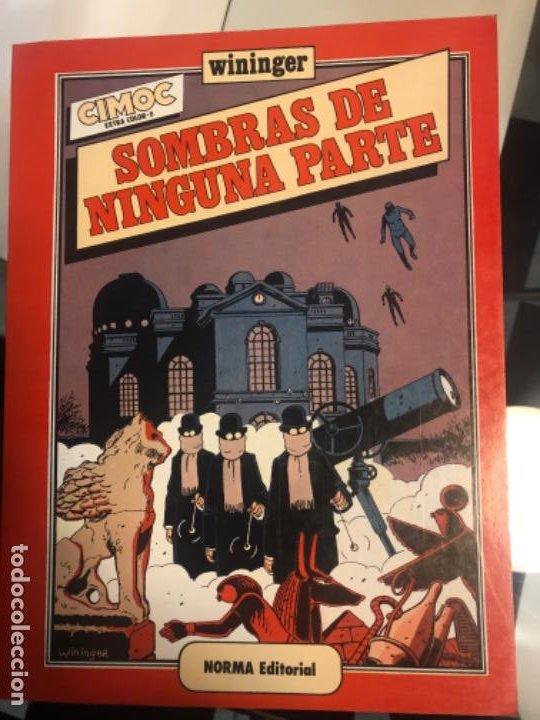 """""""SOMBRAS DE NINGUNA PARTE"""" ED 1983 CIMOC DE WININGER (Tebeos y Comics - Norma - Cimoc)"""