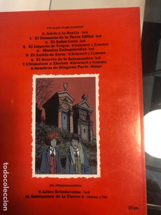 """Cómics: """"Sombras de ninguna parte"""" ed 1983 Cimoc de Wininger - Foto 3 - 194881655"""
