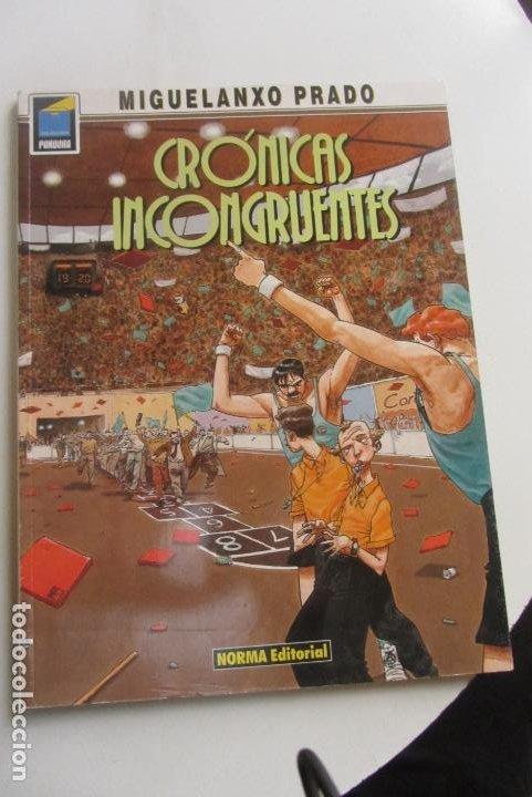 MIGUELANXO PRADO : CRÓNICAS INCONGRUENTES PANDORA Nº 6 NORMA CX43 (Tebeos y Comics - Norma - Comic Europeo)