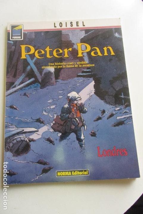 PETER PAN. LONDRES. LOISEL. COL. PANDORA Nº 27. NORMA, 1990 CX43 (Tebeos y Comics - Norma - Comic Europeo)