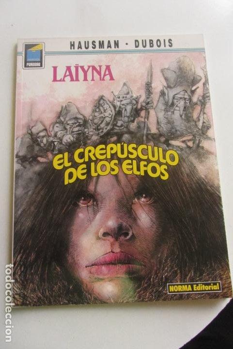 LAIYNA EL CREPUSCULO DE LOS ELFOS HAUSMAN - DUBOIS / COL. PANDORA Nº 31 NORMA CX43 (Tebeos y Comics - Norma - Comic Europeo)