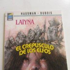 Cómics: LAIYNA EL CREPUSCULO DE LOS ELFOS HAUSMAN - DUBOIS / COL. PANDORA Nº 31 NORMA CX43. Lote 194888557