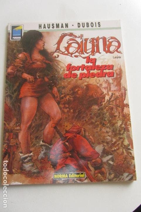 COL. PANDORA Nº 34. LAÏYNA 2 LA FORTALEZA DE PIEDRA, HAUSMAN - DUBOIS NORMA CX43 (Tebeos y Comics - Norma - Comic Europeo)