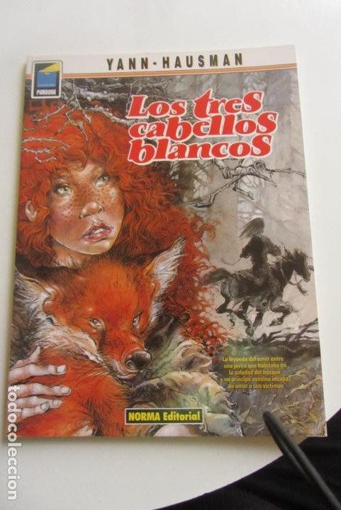 LOS TRES CABELLOS BLANCOS - YANN/HAUSMAN - COLECCIÓN PANDORA Nº 44 NORMA CX43 (Tebeos y Comics - Norma - Comic Europeo)