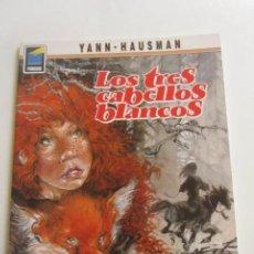 Cómics: LOS TRES CABELLOS BLANCOS - YANN/HAUSMAN - COLECCIÓN PANDORA Nº 44 NORMA CX43. Lote 194888716
