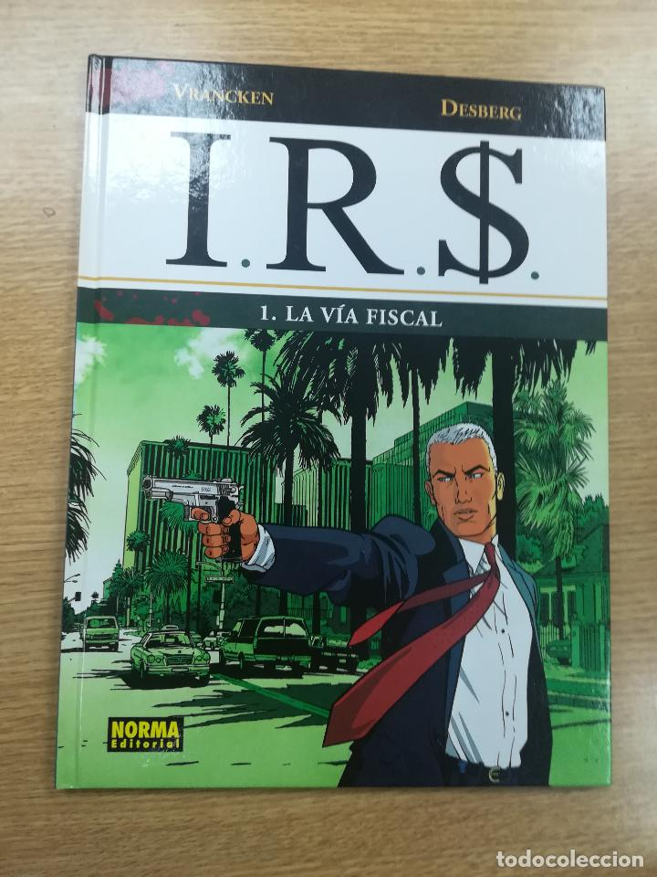 IRS #1 LA VIA FISCAL (Tebeos y Comics - Norma - Comic Europeo)