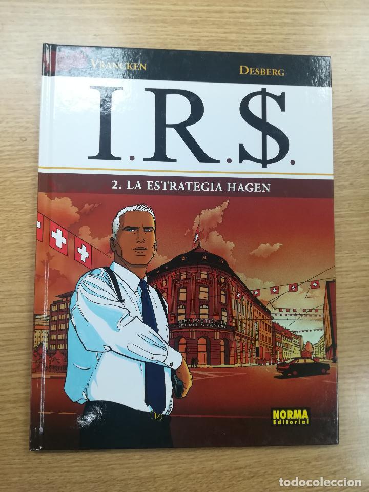 IRS #2 LA ESTRATEGIA HAGEN (Tebeos y Comics - Norma - Comic Europeo)