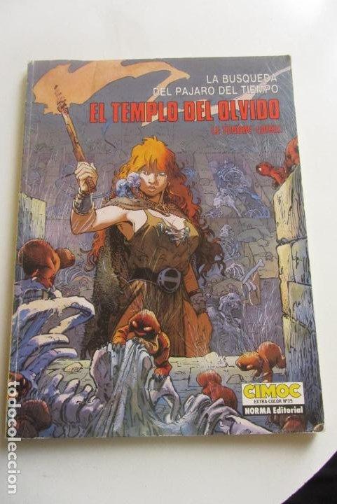 EL TEMPLO DEL OLVIDO LE TENDRE LOISEL CIMOC EXTRA COLOR Nº 25 NORMA EDITORIAL CX43 (Tebeos y Comics - Norma - Comic Europeo)
