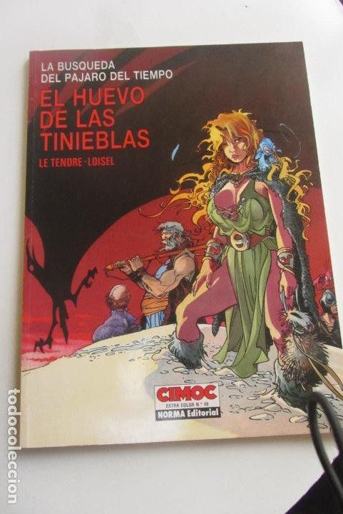 LA BUSQUEDA DEL PAJARO DEL TIEMPO - EL HUEVO DE LAS TINIEBLAS - CIMOC EXTRA COLOR Nº 48 NORMA CX43 (Tebeos y Comics - Norma - Comic Europeo)
