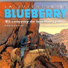 Cómics: LA JUVENTUD DE BLUEBERRY. Nº 54. EL CONVOY DE LOS FORAJIDOS. CORTEGGIANI - BLANC-DUMONT NORMA 2016. Lote 194913095