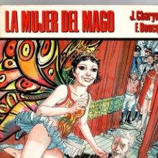 Cómics: LA MUJER DEL MAGO. J. CHARYN - F. BOUCQ. CIMOC EXTRA COLOR 33-34. NORMA, 1987. Lote 194916458