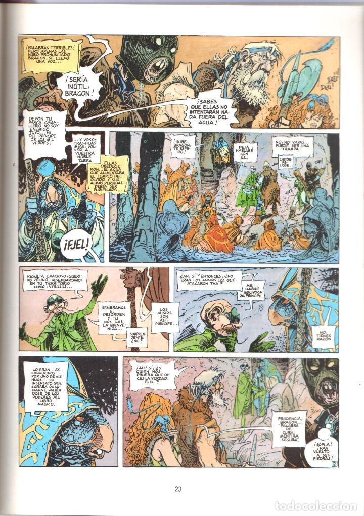 Cómics: LA BUSQUEDA DEL PAJARO DEL TIEMPO. EL TEMPLO DEL OLVIDO. LE TENDRE-LOISEL. CIMOC EXTRA COLOR 25 - Foto 2 - 194917516