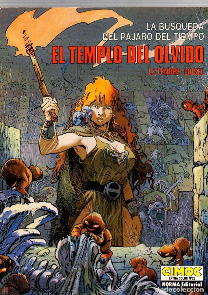 LA BUSQUEDA DEL PAJARO DEL TIEMPO. EL TEMPLO DEL OLVIDO. LE TENDRE-LOISEL. CIMOC EXTRA COLOR 25 (Tebeos y Comics - Norma - Cimoc)