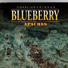 Cómics: BLUEBERRY. Nº 49. APACHES. CHARLIER - GIRAUD. NORMA 2009. 1ª EDICION. Lote 194920462