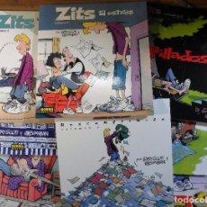Cómics: ZITS. JERRY SCOTT. NORMA EDITORIAL. TOMOS DEL 1 AL 8 (FALTARÍAN EL 9 Y EL 10 PARA ESTAR COMPLETA). Lote 194931057