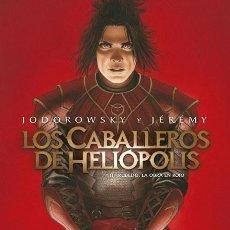 Cómics: CÓMICS. LOS CABALLEROS DE HELIÓPOLIS 3. RUBEDO, LA OBRA EN ROJO - JODOROWSKY/JEREMY (CARTONE). Lote 194938457