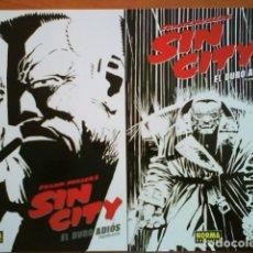 Cómics: 2005 SIN CITY, FRANK MILLER´S - EL DURO ADIOS . 1ª Y 2ª PARTE. Lote 194987455