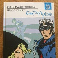 Cómics: CORTO MALTES EN SIBERIA - HUGO PRATT - NORMA - TAPA DURA - COMO NUEVO - GCH1. Lote 195011541