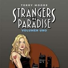 Cómics: STRANGERS IN PARADISE EDICION DE LUJO LIBRO UNO TERRY MOORE NORMA. Lote 195026271