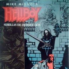 Cómics: HELLBOY SEMILLAS DE DESTRUCCIÓN ...Y MONKEYMAN AND O'BRIEN NORMA EDITORIAL. Lote 195072111