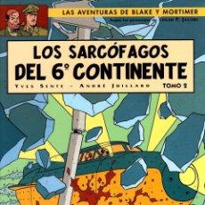 Cómics: LAS AVENTURAS DE BLAKE Y MORTIMER. Nº 17. LOS SARCOFAGOS DEL 6º CONTINENTE. NORMA 2005. 1ª EDICION. Lote 195095713