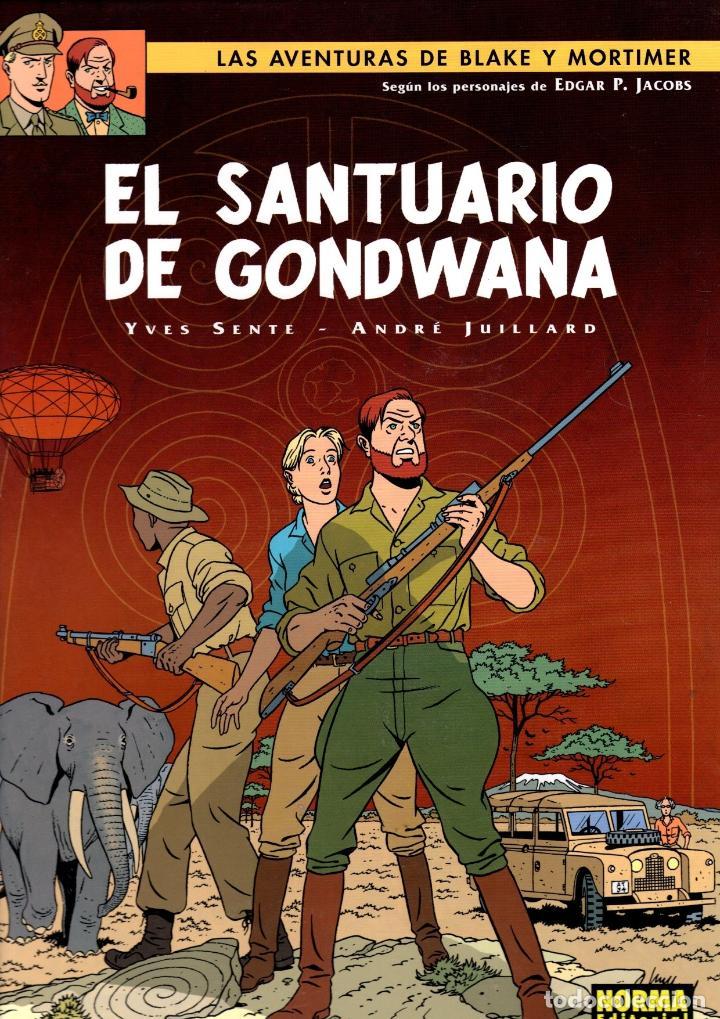 LAS AVENTURAS DE BLAKE Y MORTIMER. Nº 18. EL SANTUARIO DE GONDWANA. NORMA 2008. 1ª EDICION (Tebeos y Comics - Norma - Comic Europeo)