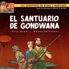 Cómics: LAS AVENTURAS DE BLAKE Y MORTIMER. Nº 18. EL SANTUARIO DE GONDWANA. NORMA 2008. 1ª EDICION. Lote 195095826