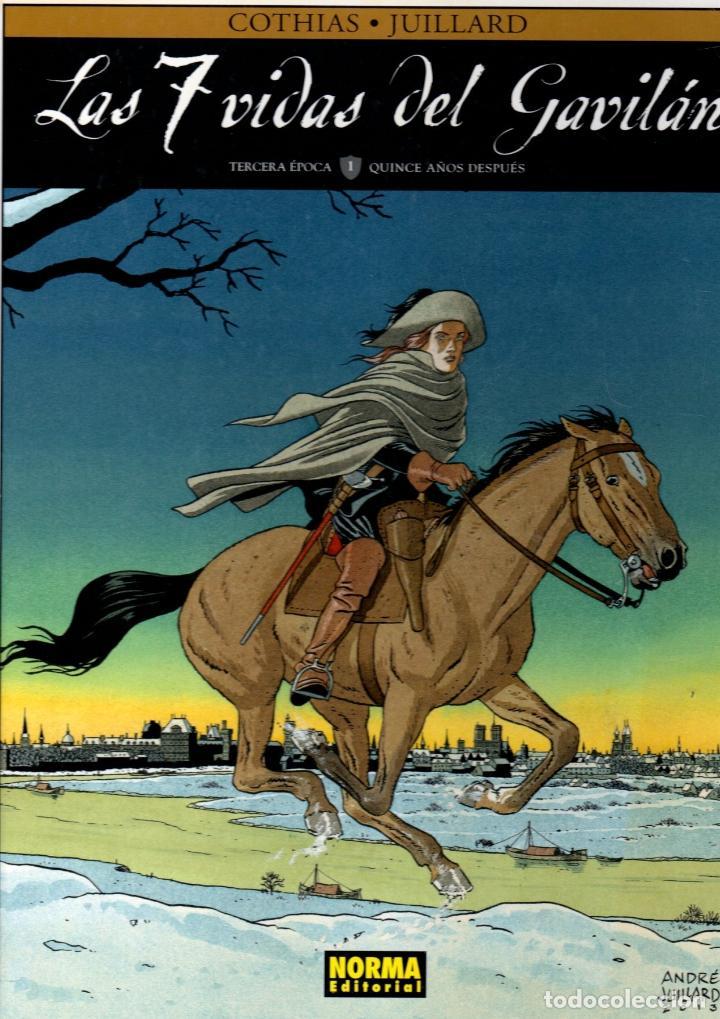 LAS 7 VIDAS DEL GAVILAN. COTHIAS - JUILLARD. NORMA 2015. 1ª EDICION (Tebeos y Comics - Norma - Comic Europeo)