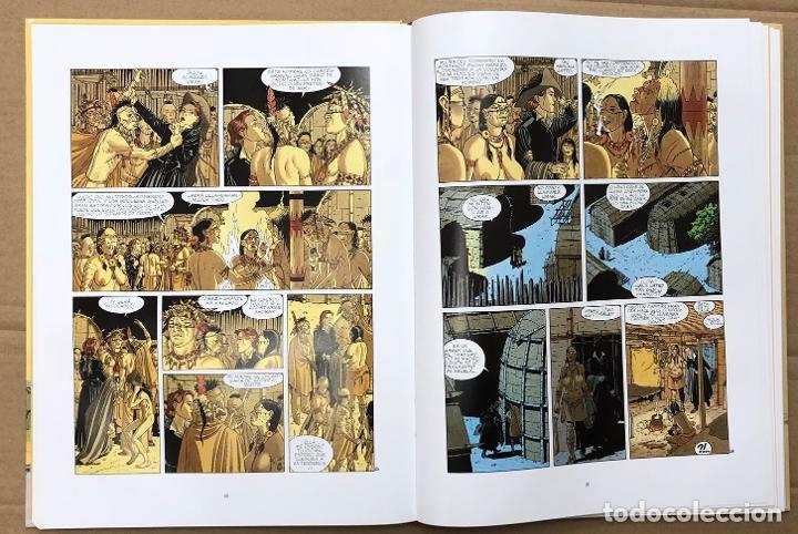 Cómics: PLUMA AL VIENTO. EL INTEGRAL. COTHIAS - JUILLARD. NORMA 2005. 1ª EDICION - Foto 2 - 195098112