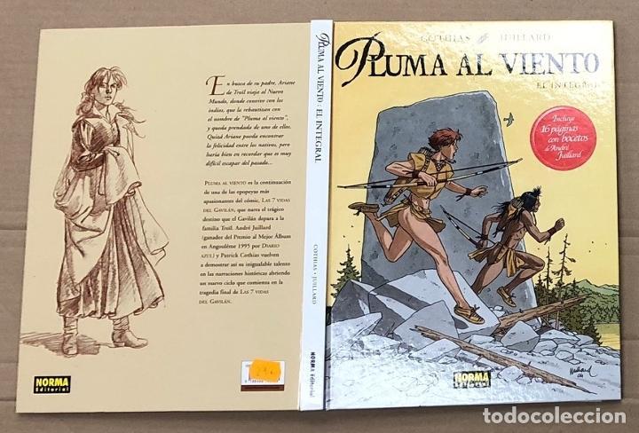 PLUMA AL VIENTO. EL INTEGRAL. COTHIAS - JUILLARD. NORMA 2005. 1ª EDICION (Tebeos y Comics - Norma - Comic Europeo)