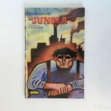 Cómics: LA JUNGLA DE UPTON SINCLAIR ADAPTADA AL COMIC POR PETER KUPER. NORMA EDITORIAL.. Lote 195112335