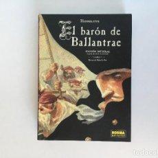 Cómics: EL BARÓN DE BALLANTRAE DE HIPPOLYTE. NORMA EDITORIAL. Lote 195116556