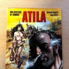 Cómics: ATILA / UNA AVENTURA DE HOMBRE.. Lote 195137171
