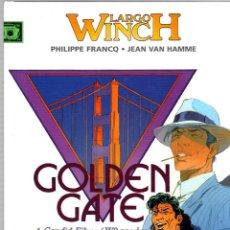 Cómics: LARGO WINCH. Nº 11. GOLDEN GATE. PHILIPPE FRANCQ - JEAN VAN HAMME. NORMA, 2007. 1ª EDICION. Lote 195179292