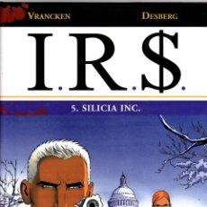 Cómics: I.R.S. 5. SILICIA INC. VRANCKEN - DESBERG. NORMA, 2009. 1ª EDICION. Lote 195180503