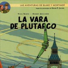 Cómics: LAS AVENTURAS DE BLAKE Y MORTIMER. Nº 23. LA VARA DE PLUTARCO. NORMA, 2015. 1ª EDICION. Lote 195181558