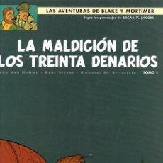 Cómics: LAS AVENTURAS DE BLAKE Y MORTIMER. Nº 19. LA MALDICION DE LOS TREINTA DENARIOS. TOMO 1. NORMA 2010.. Lote 195181820