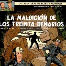 Cómics: LAS AVENTURAS DE BLAKE Y MORTIMER. Nº 20. LA MALDICION DE LOS TREINTA DENARIOS. TOMO 2. NORMA 2011. Lote 195182148